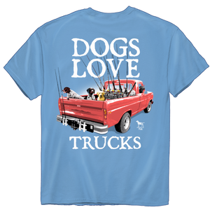 1213 Dogs Love Trucks