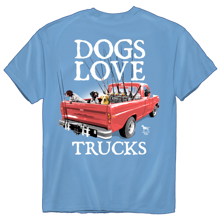 American Fido | Dogs Love Trucks 1213
