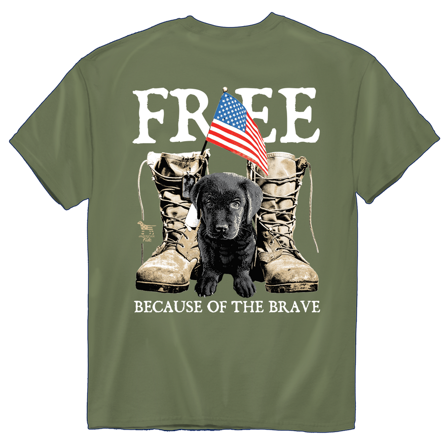 American Fido | FREE because of the Brave 1262