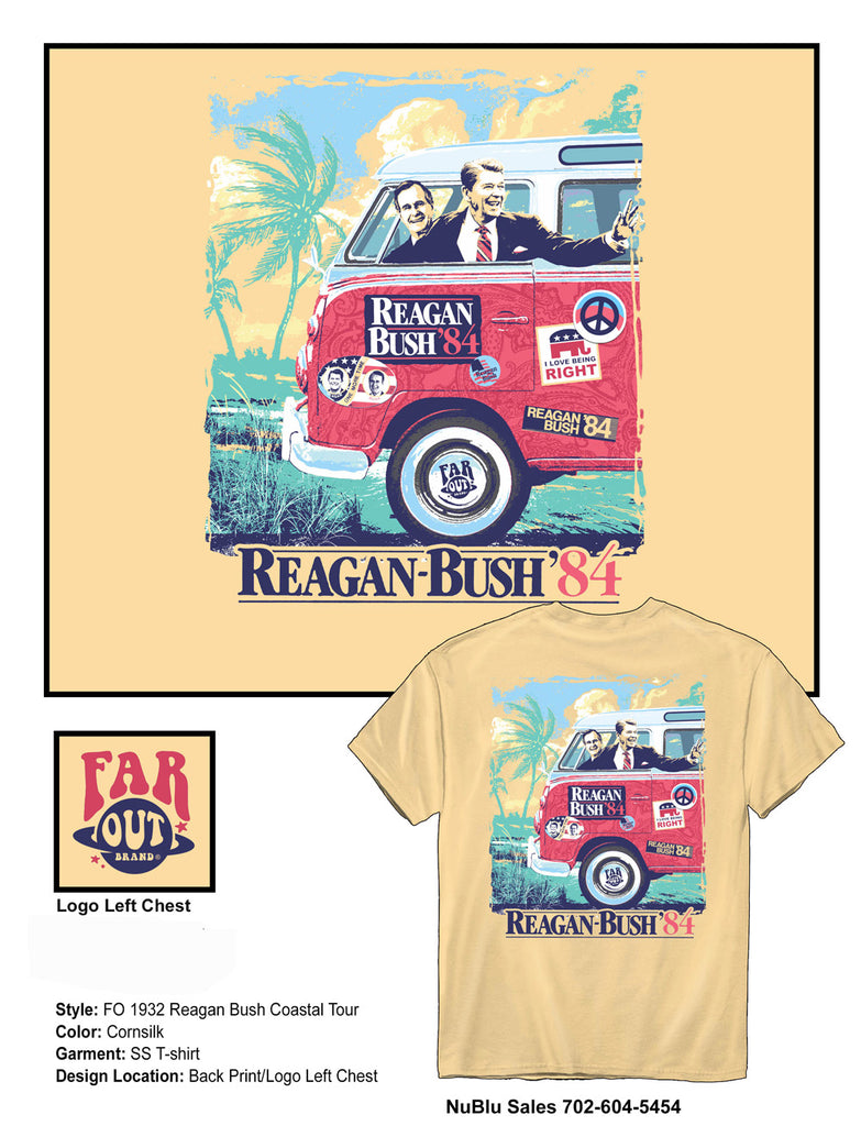 Reagan Bush Tour