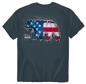 One South | Ripped USA Bear 2539