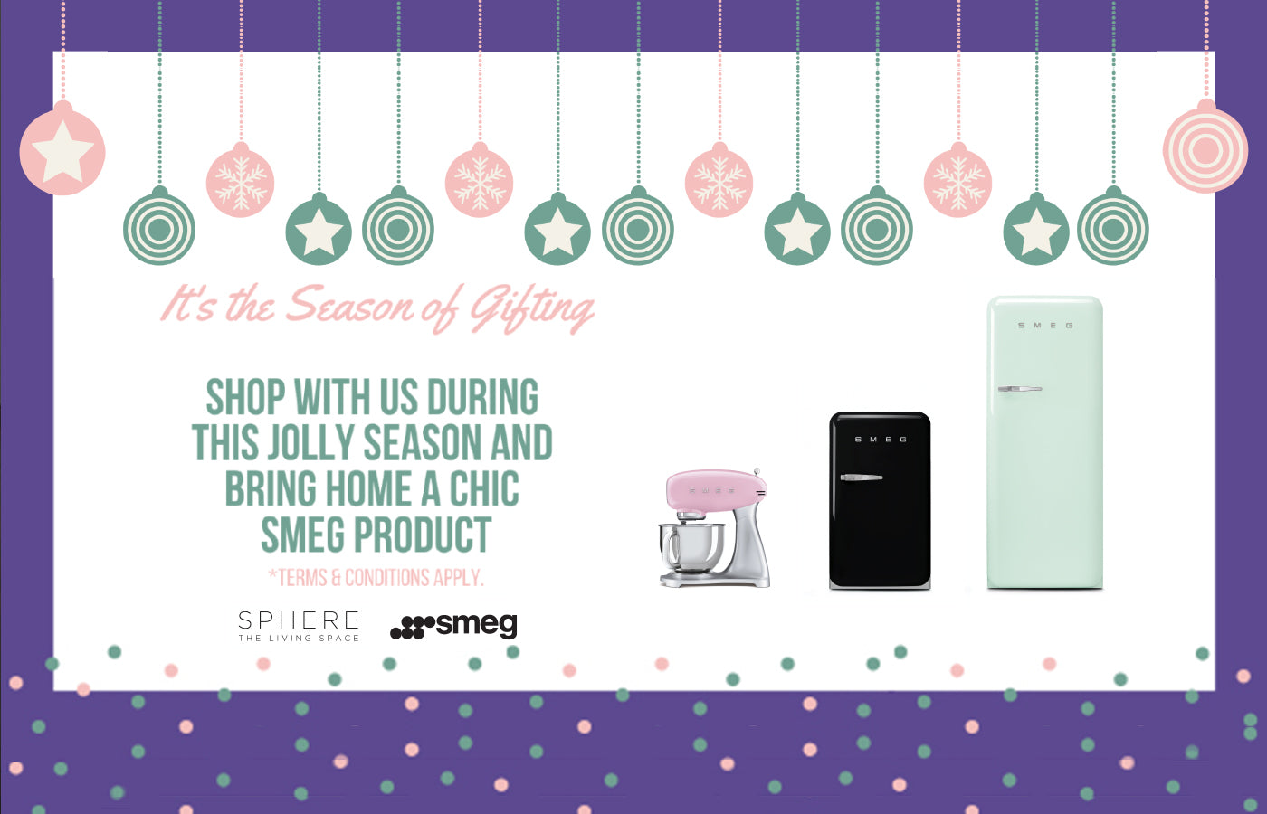 Sphere Living Season of Gifting!