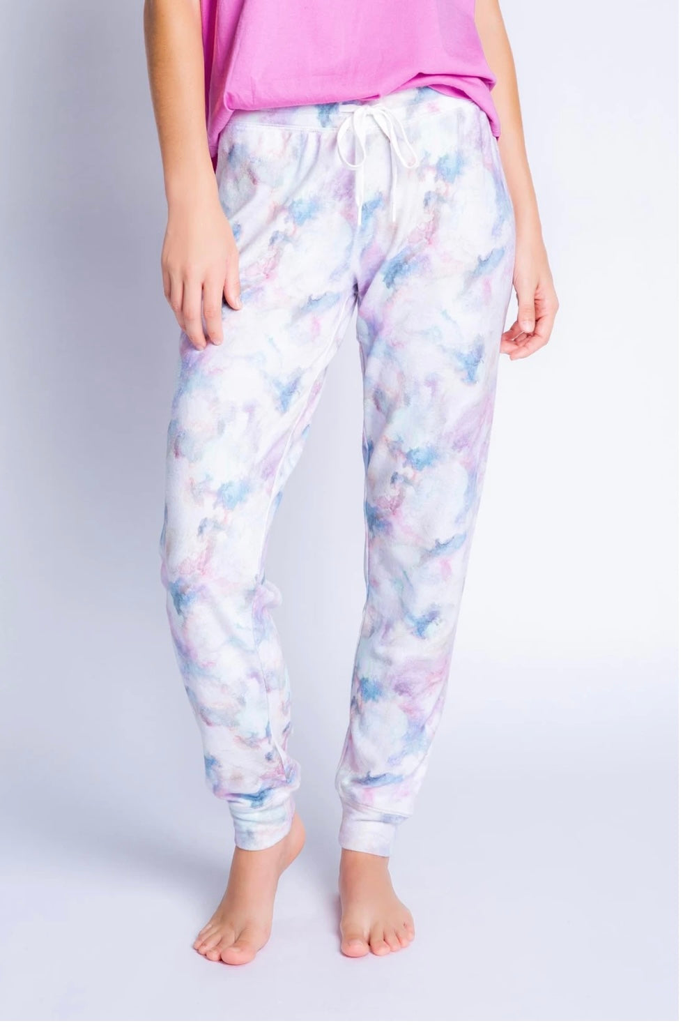 PJ Salvage Marble Vibes Banded Pant Regular price