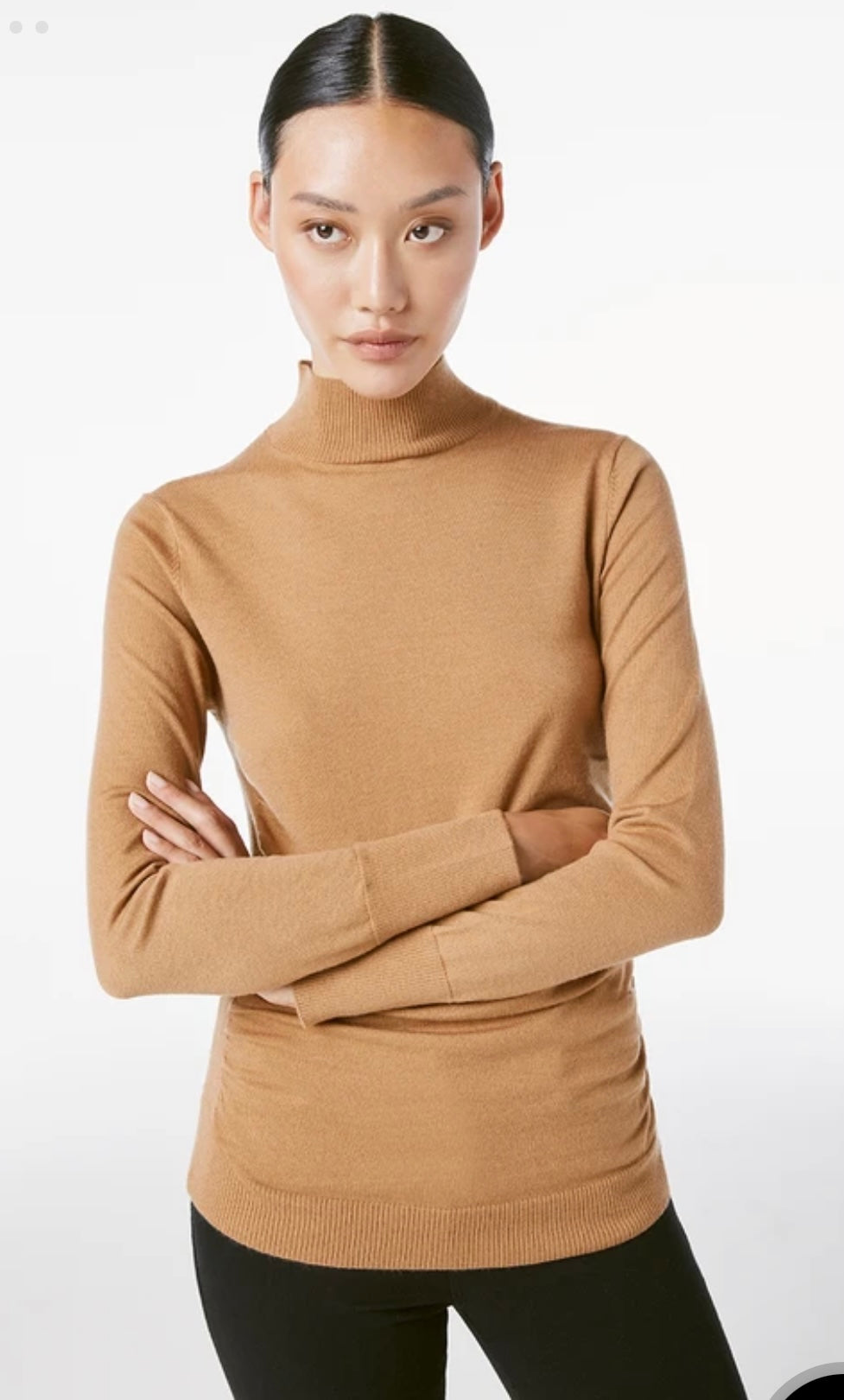 FRAME Luxe Turtleneck Sweater