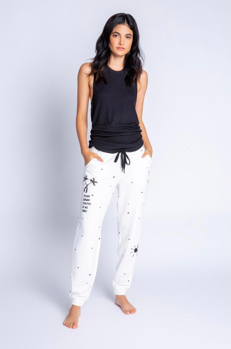 PJ Salvage Daily Pant Ivory