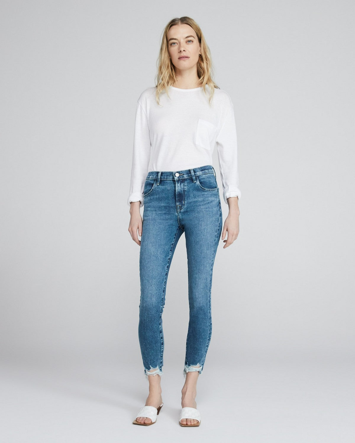 Alana High Rise Cropped Skinny Project