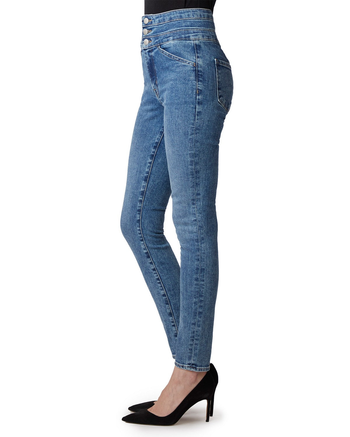 J Brand Annalie High-Rise Skinny Project