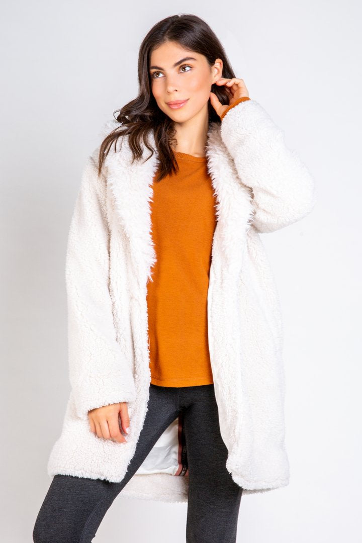 PJ Salvage Sherpa Jacket Stone