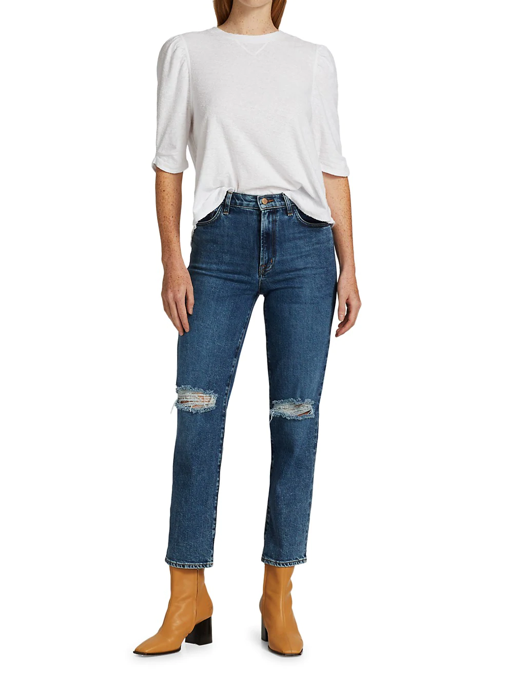 J Brand Jules High-Rise Straight