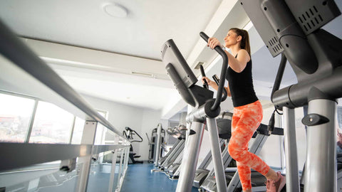 What are the benefits of using an elliptical machine