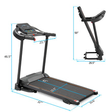 Load image into Gallery viewer, Motorized  Treadmill with Audio Speakers - Self Care Fitnezz