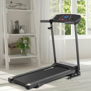 Folding Treadmill Electric Support Motorized Power (1.0HP) - Self Care Fitnezz