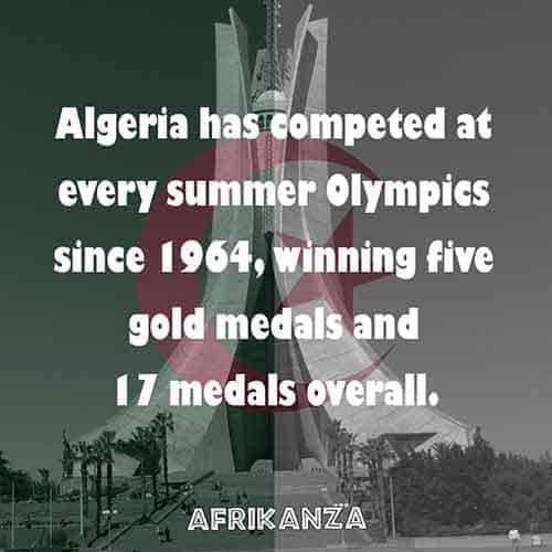 Competed in every summer Olympics since 1964