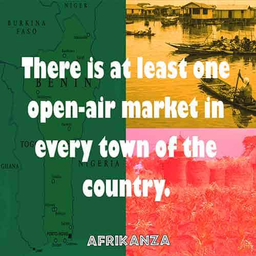 There is at least one open-air market in every town of the country