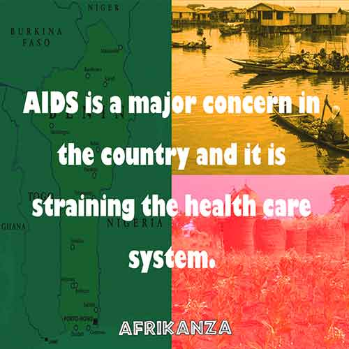AIDS is a major concern in the country and it is straining the health care system