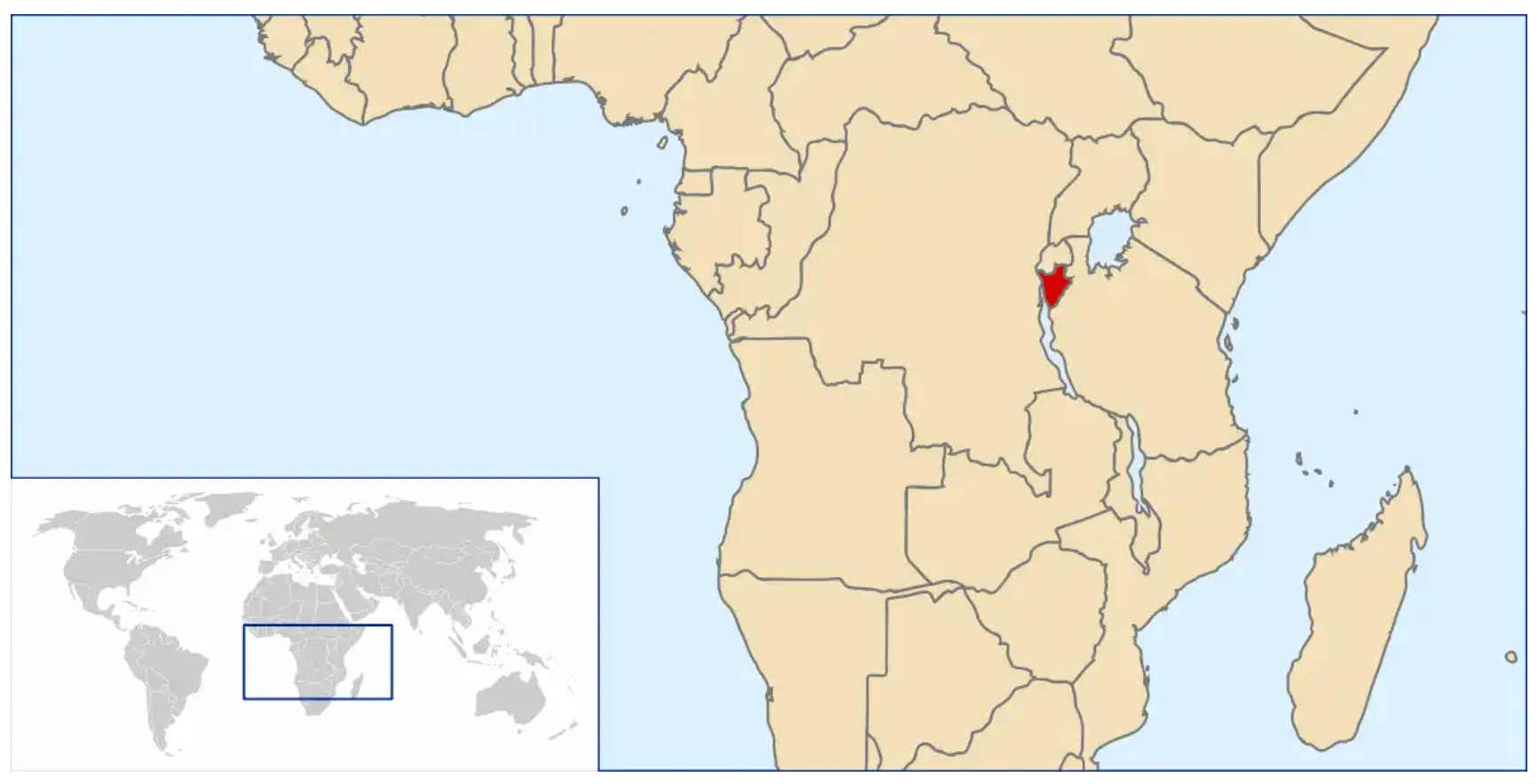 Burundi- The 9 countries of East Africa