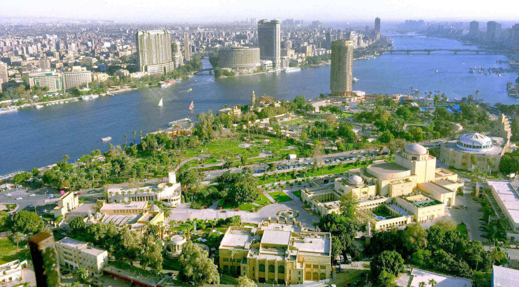 Cairo Egypt One Of The Largest Cities In Africa
