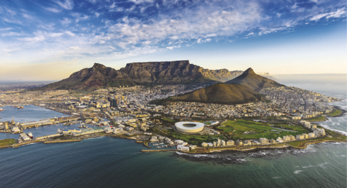 Cape Town South Africa Eight Largest African City