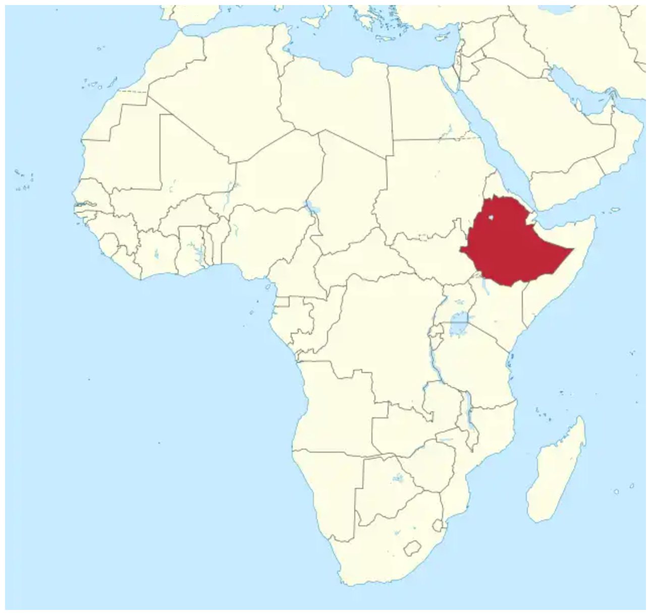 Ethiopia - The 9 countries of East Africa