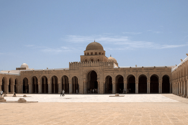 kairouans Great Mosque Courtyard