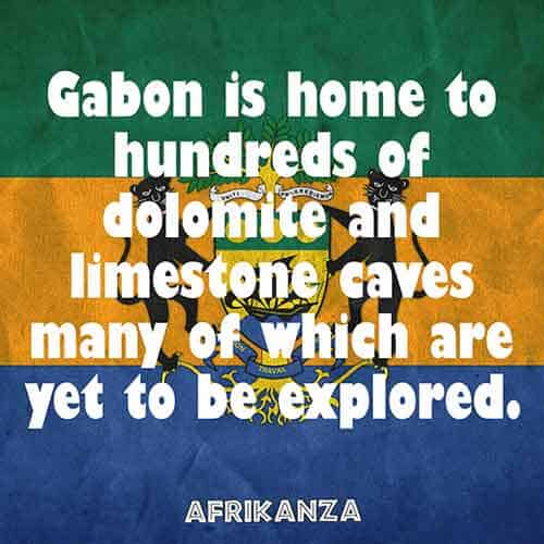 Gabon is home to hundreds of dolomite and limestone caves many of which are yet to be explored