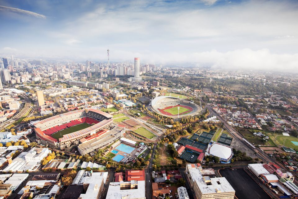 Johannesburg South Africa One Of The Largest Cities In Africa