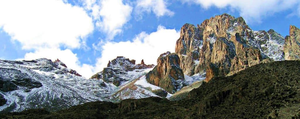 Mount Kenya African Mountains