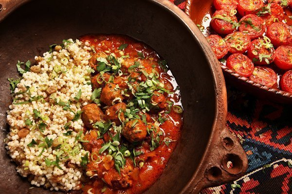 North African Dinner Cuisine Couscous