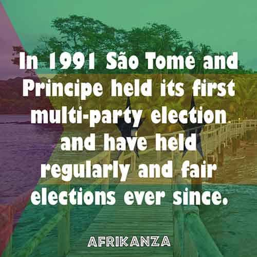 In 1991 São Tomé and Principe held its first multi-party election and have held regularly and fair elections ever since.