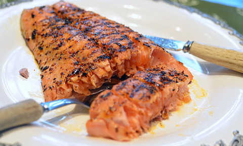 South African Spiced Egg-Salmon