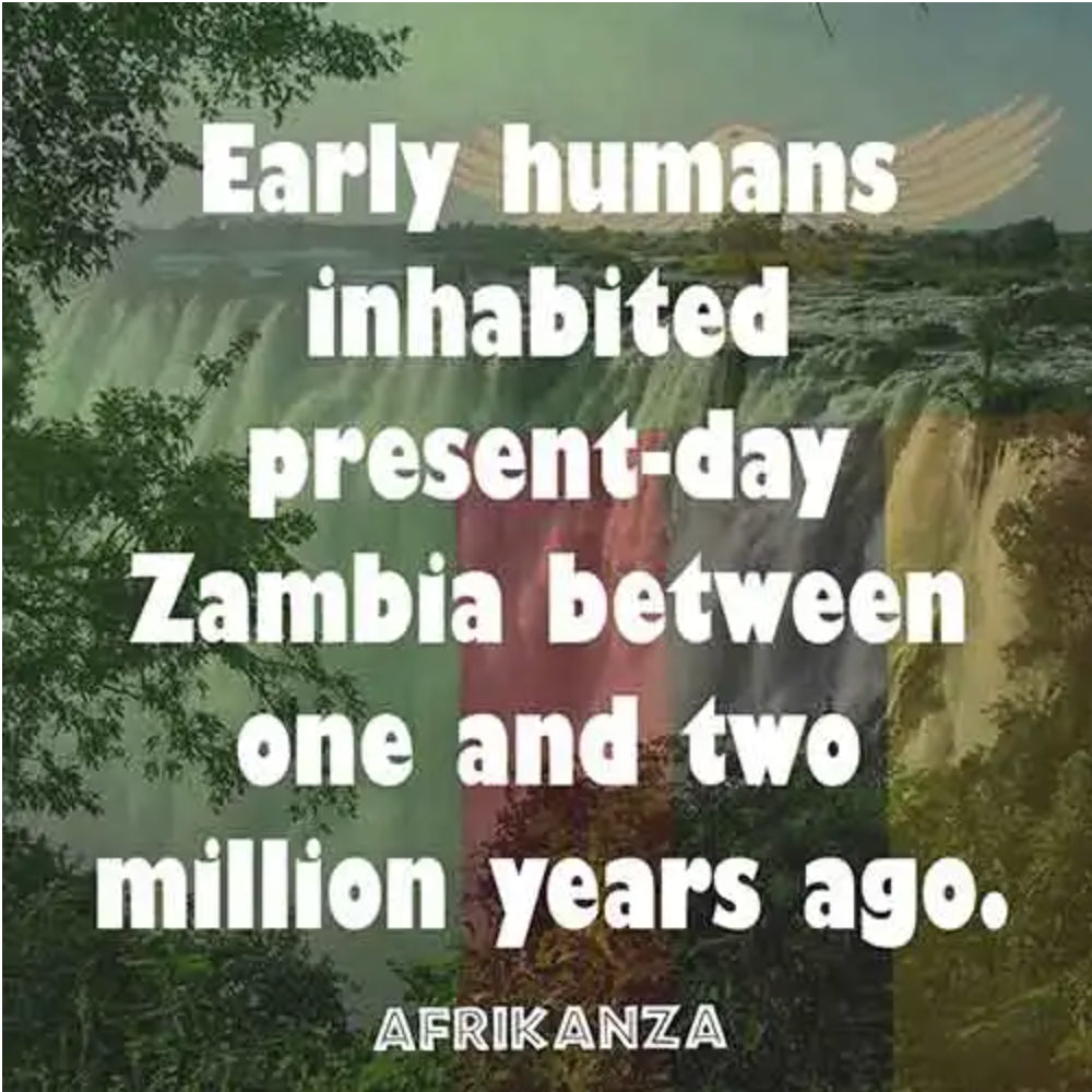 Early humans inhabited presen-day Zambia