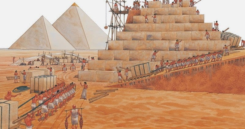 Egyptian Arabs Are Not The Ones Who Built The Pyramids