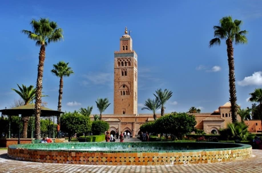 the koutoubia mosque in morocco