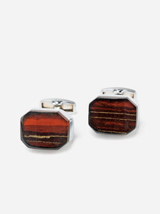 The Setting Sun Patina Stone Cufflink