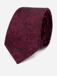 Wine Vineyard Printed Necktie