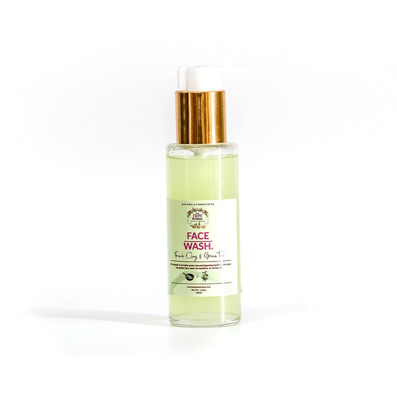 French Clay & Green Tea Face Wash