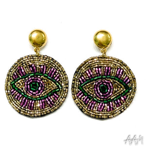 MG Evil Eye Earring