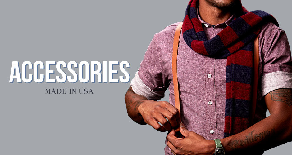 Made in USA accessories for men
