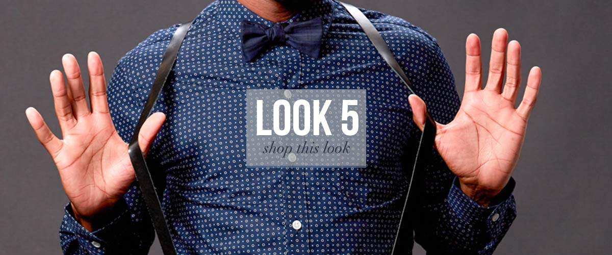 Dapper Bow Tie Look for Men