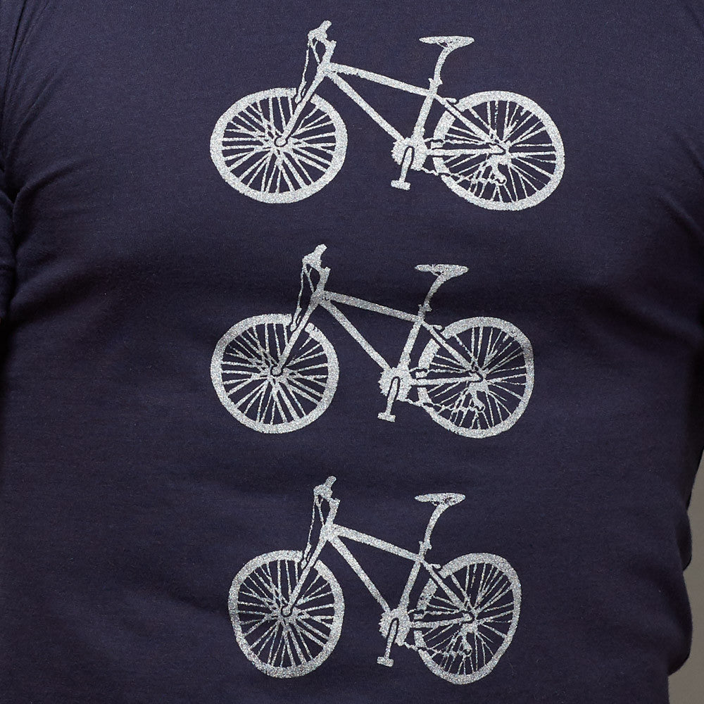 Provincetown Stacked Bikes Tee Shirt