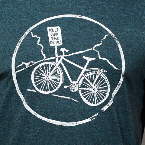 Provincetown 'Keep off the Dunes' Bike Tee Shirt