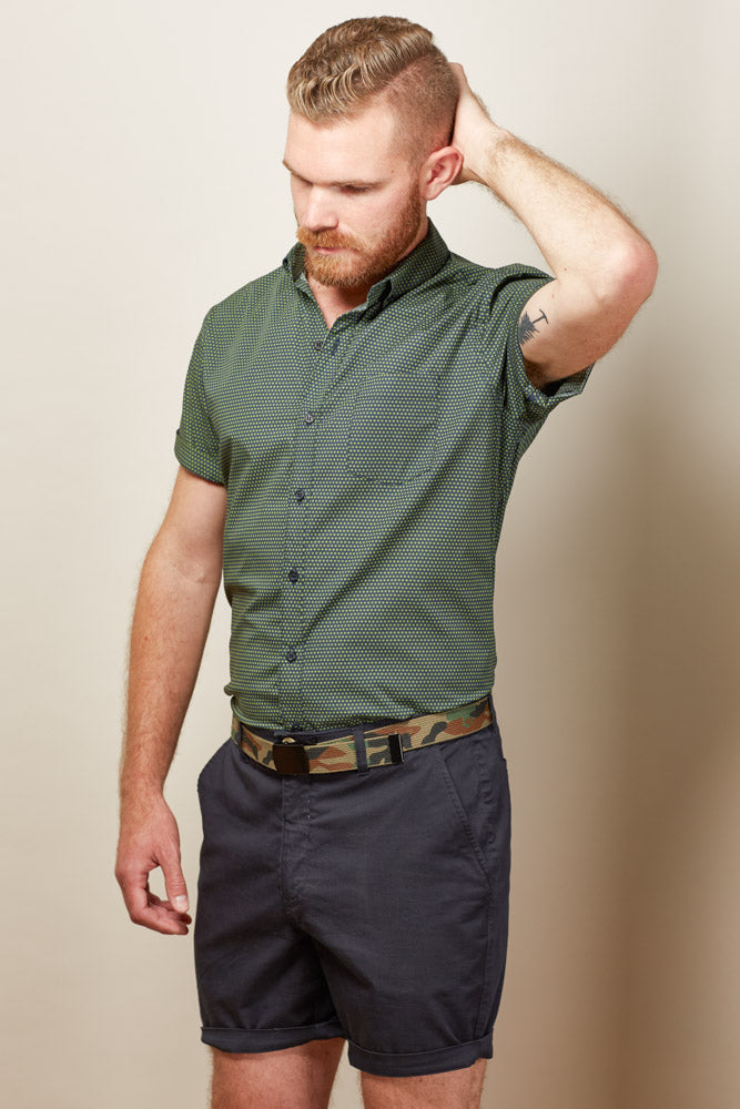 Camouflage Cotton Web Military Belt