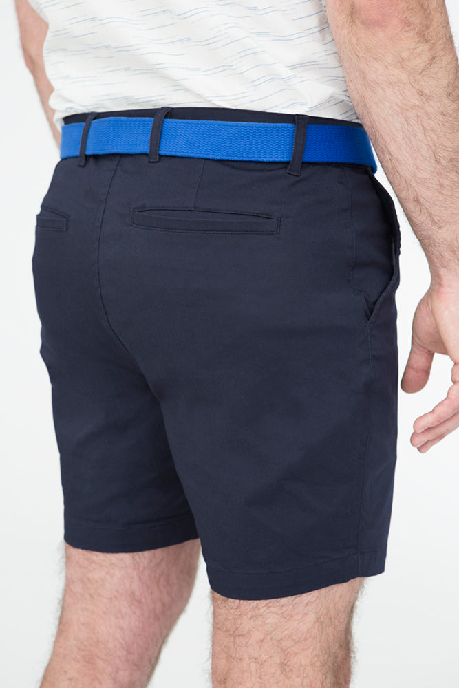 Navy Blue Cotton Stretch Twill Shorts Sizes 30, 31 & 38 Available