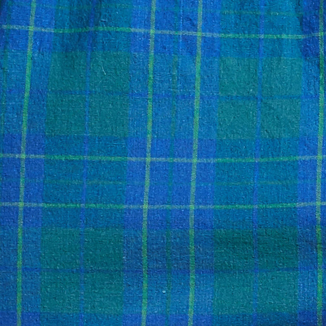 Green & Blue Plaid Boxer Short - Marty