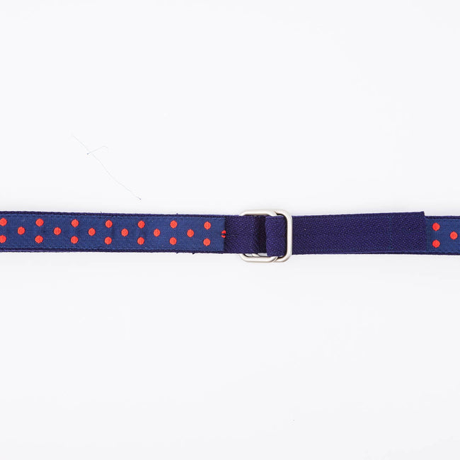 Red & Blue Polka Dot Belt by One Magnificent Beast