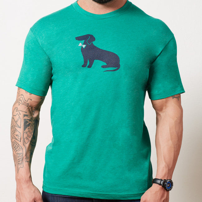 Green Dachshund Tee Only Size S Available