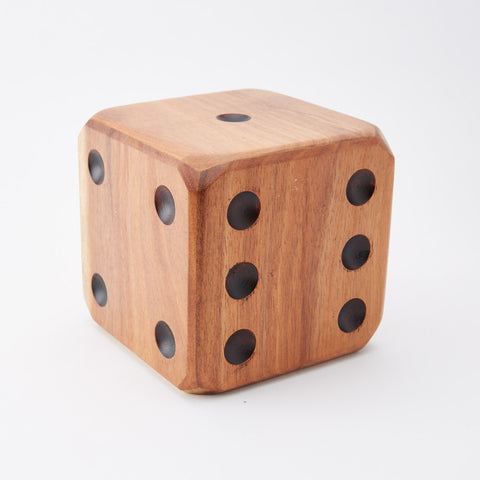 Vintage Large Wooden Dice