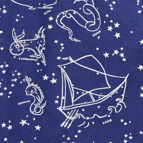 Astrological / Nautical Print Reversible Tote Bag