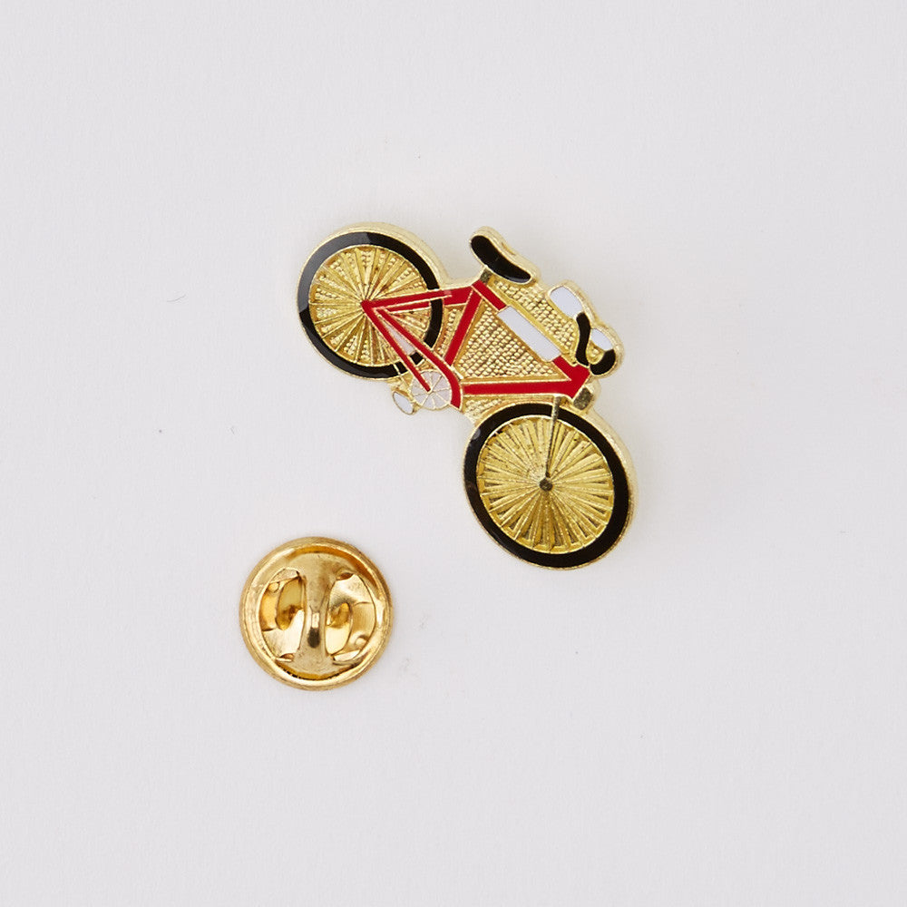 Vintage Enamel Bicycle Pin