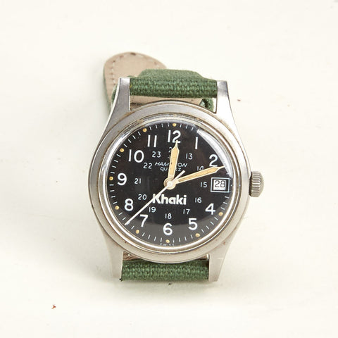 Vintage Hamilton Khaki  Military Watch